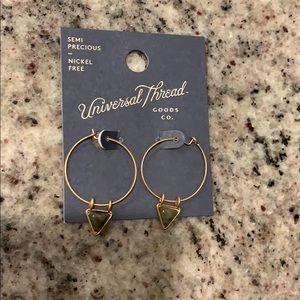 Universal Thread hoop earrings-add on for $2